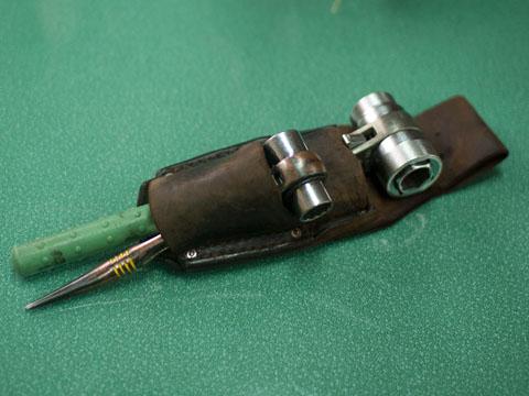 古い工具ホルダー