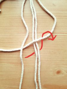 マクラメ 編み方