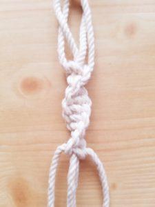 ねじり結び ねじり編み
