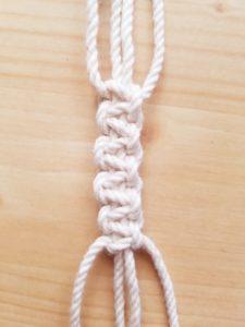 平編み 平結び