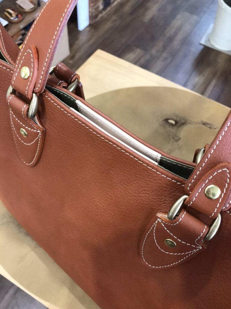 バッグの閉じ方貼り付けタイプ丸2