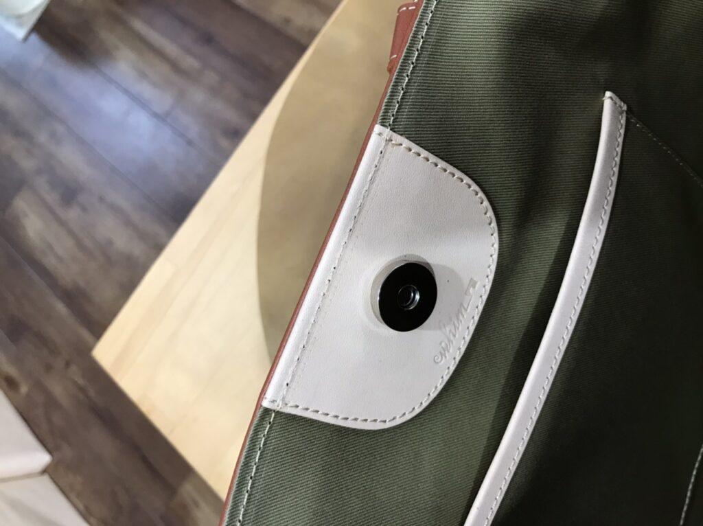 バッグの閉じ方貼り付けタイプ丸1
